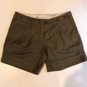 Anthropologie G1 Basic Goods Wool Shorts